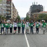 Paseo solidario para la investigación del cáncer de mama, este domingo en Irún