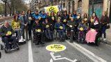 Nueva campaña 'No es una zona VIP, es una necesidad' de COCEMFE Navarra