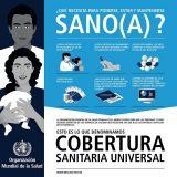 'Cobertura sanitaria universal', este domingo en el Día Mundial de la Salud