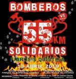 Marcha '55 kilómetros solidarios' a favor de la Asociación Extremeña de FQ