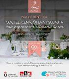 Cóctel, cena, ópera y subasta a favor de Fundación Ana Carolina Díez Mahou