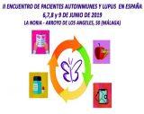 'II Encuentro de Pacientes Autoinmunes y Lupus', del 6 al 9 de junio en Málaga