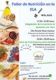 'Taller de Nutrición en la ELA' de ELA Andalucía, el 15 de mayo en Málaga
