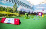 Campo de golf para niños con cáncer ingresados en el Gregorio Marañón