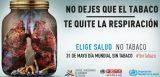 'El tabaco y la salud pulmonar', este viernes en el Día Mundial Sin Tabaco