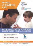 Charla práctica de psicología de la ADM para padres de menores con diabetes