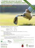 I Torneo de Golf AECC Benalmádena-Torremolinos, el 20 de julio en Málaga