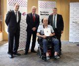 Donación de 2.000 euros de Fundación Ibercaja a AEDEM-COCEMFE