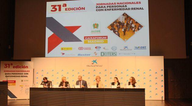 XXXI edición de las 'Jornadas Nacionales de Personas Renales'.
