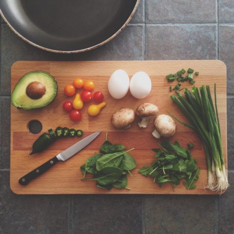 comida sana vegetales