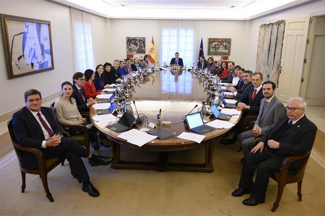 Consejo de Ministros. Pool Moncloa/Fernando Calvo