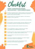 'Checklist' para una comunicación inclusiva