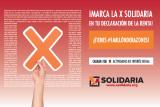 Aumentar la 'X solidaria' al 1%