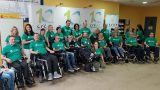 Encuentro de Afectados de ELA en el CREER de Burgos